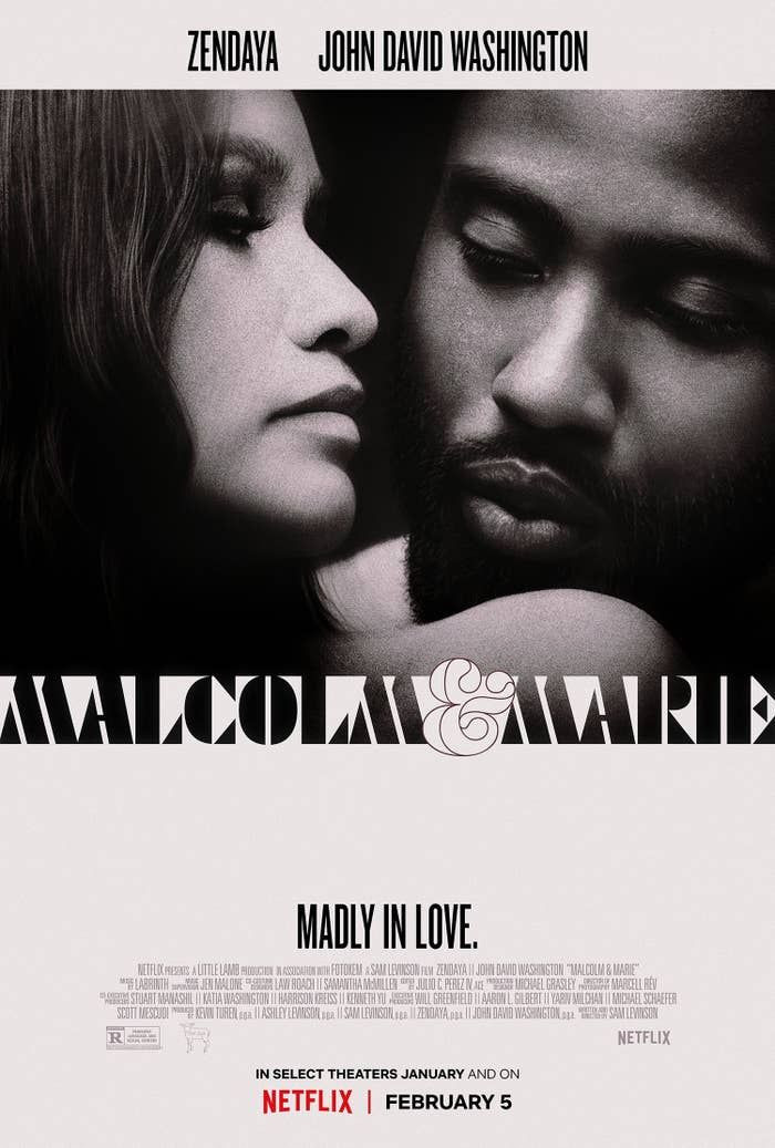 The First Trailer For _Malcolm & Marie,_