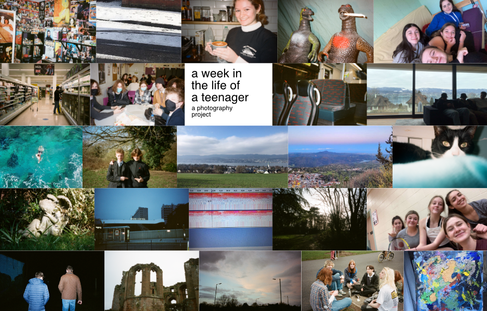 A week in the life of a teenager:  a  photography project