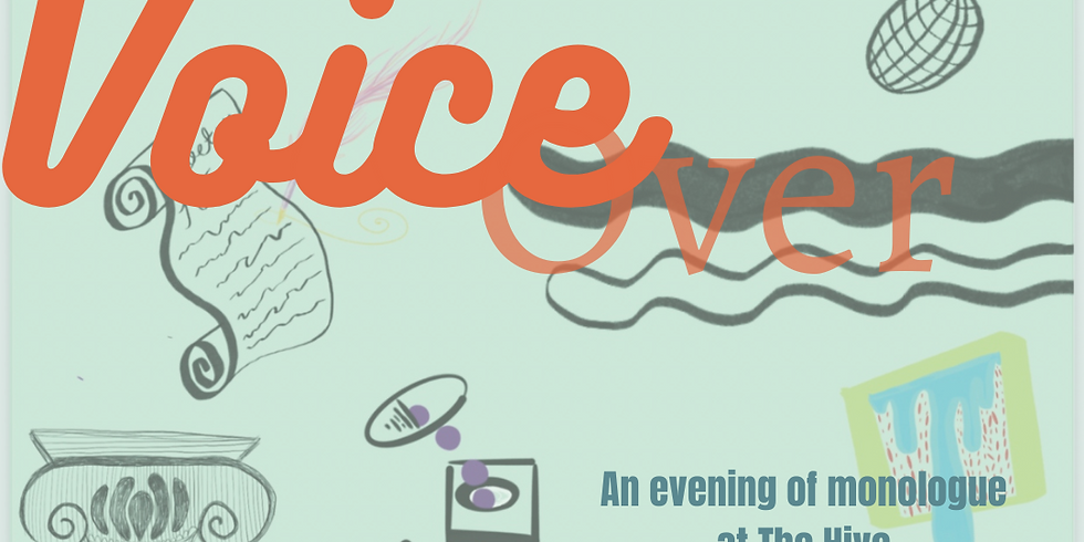 Voice Over: poetry and open mic