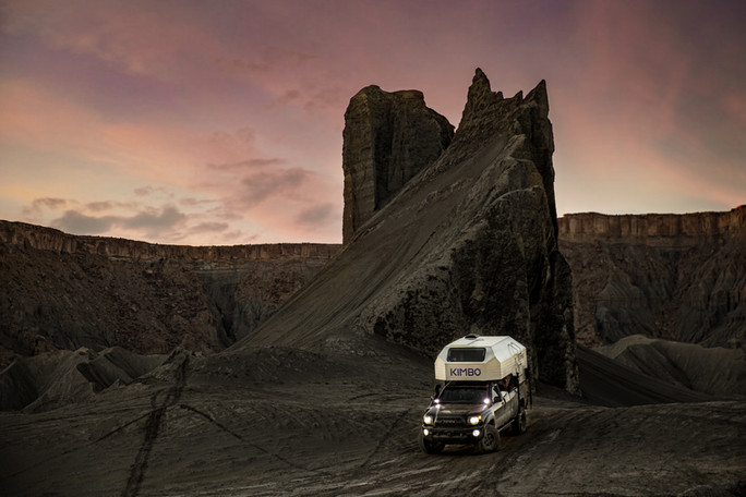 strong riveted design for off road camping