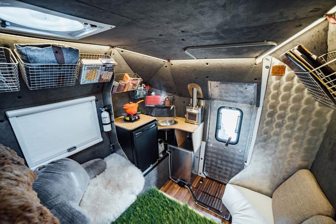 Kimbo fully loaded camper layout