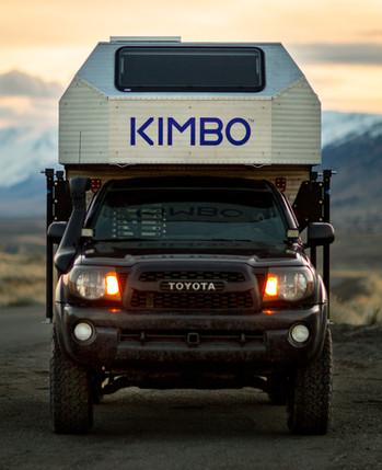 kimbo aluminum metal camper