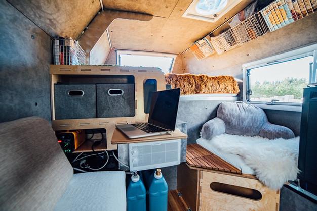 Kimbo 6C interior