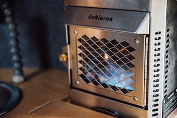 Propane fireplace - optional