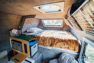 Kimbo 6C full size bed loft