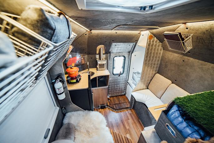 Kimbo 6C camper interior