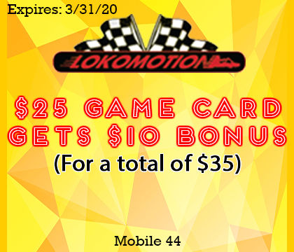 Coupon that gives you $10 free when you purchase a $25 game card!