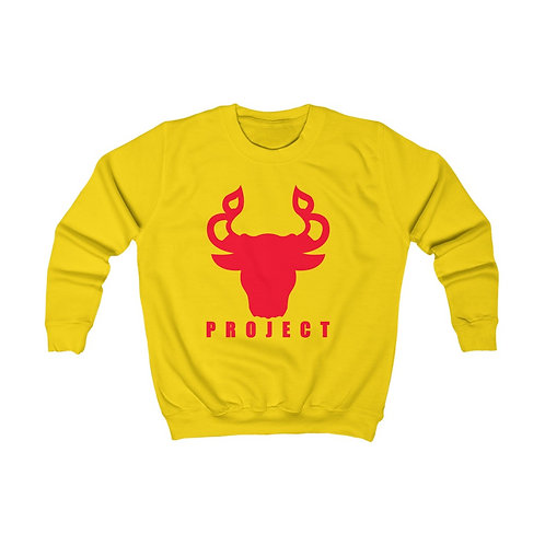 Youth Crewneck PROJECT Sweatshirt (XS-XL)