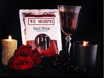 we morph red wine facial