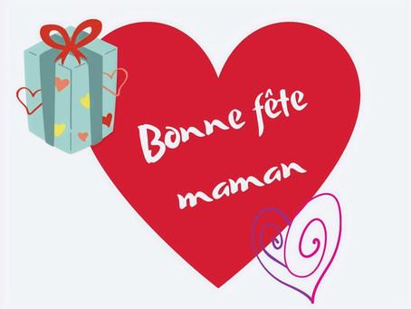 Chèque cadeau spéciale fête des mères