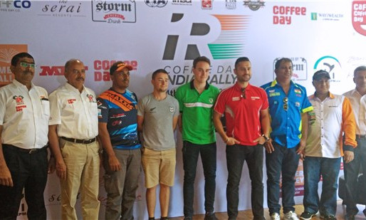 APRC - Coffee Day India Rally 2017.