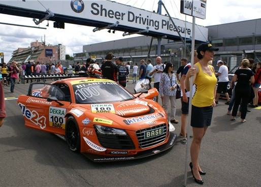 Aditya finishes 13th at ADAC GT Masters.