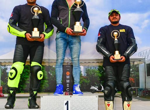 Muddappa fastest; double for Bharatraj, Rafiq, Nivetha Jessica tops ladies class