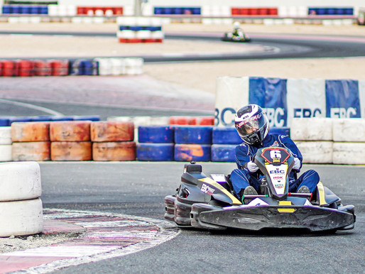Dubai-based Indian stars in endurance karting