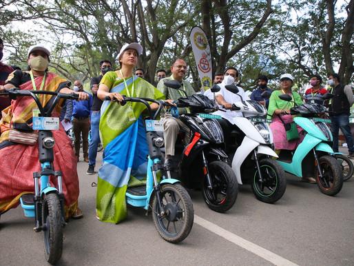 EV Day Ride in Bengaluru