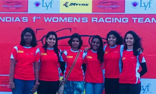 All women racing team to debut in JKNRC.