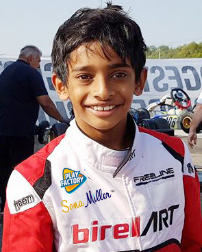 Another top 10 finish for Ruhaan Alva.