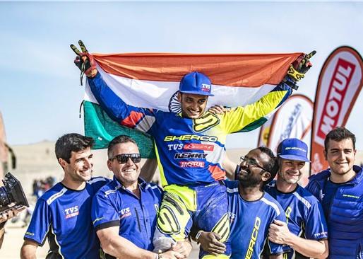Aravind KP conquers Dakar 2019.