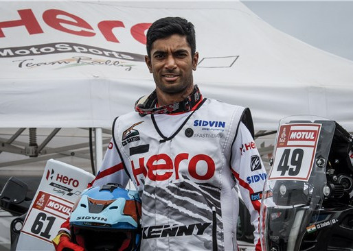 HERO MOTOSPORTS ROAD TO DAKAR 2019.