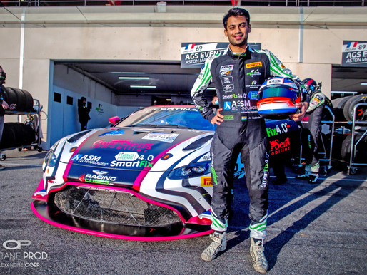 Technical glitch at the end moment plays spoilsport for Akhil at Circuit  Spa