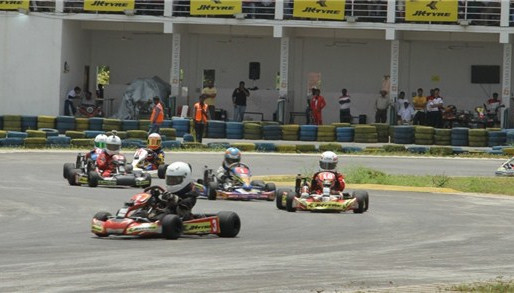 Round 4 of JK Tyre-FMSCI National Rotax Max Karting 2013.