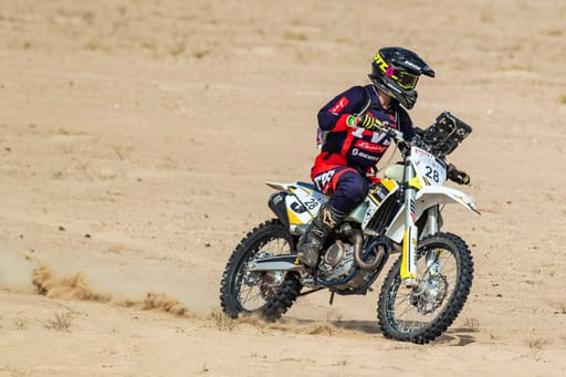 Aishwarya Pissay secures third place in Dubai International Baja in the Women's Class