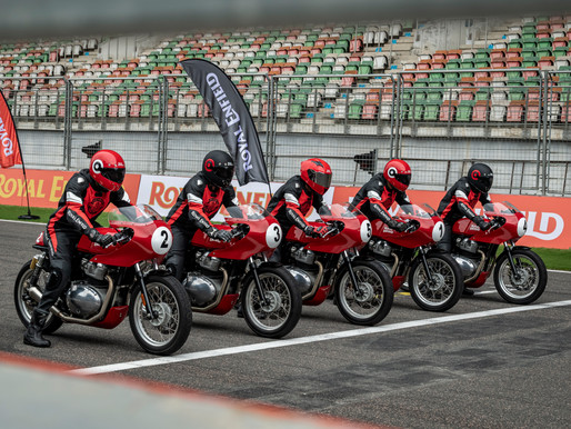 THE CONTINENTAL GT CUP - Royal Enfield forays into Track Racing