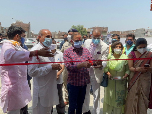 Omega Seiki Mobility with Haryana Govt opens Free-of-Cost Covid-19 dedicated hospital for public