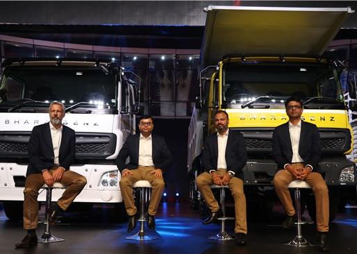 BharatBenz - All-new CV portfolio for India.