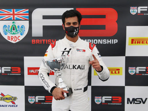 Kush Maini claimed his second win of the season