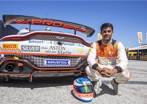 Akhil Rabindra earns top-10 finish.