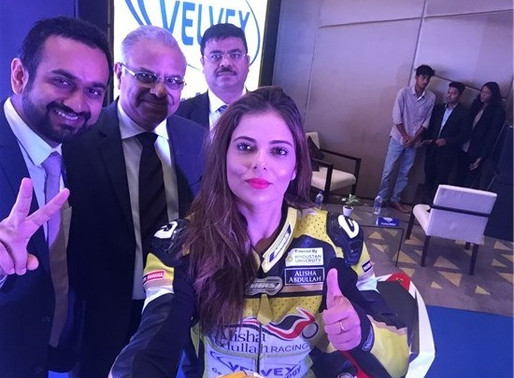 Alisha Abdullah is Brand Ambassador for Velvex.