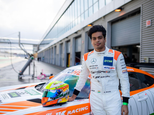Arjun Maini Gears up for DTM Opener at Monza