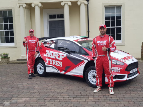 MRF Tyres M-Sport Fiesta R5 revealed ahead of WRC Rally Italia Sardegna.