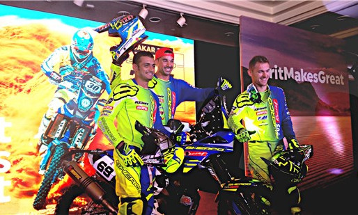 Sherco TVS Rally Squad for Dakar.