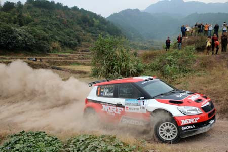 Gill becomes first Indian to win APRC.
