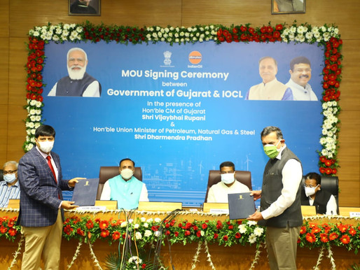IOC and Gujarat Govt sign MOU