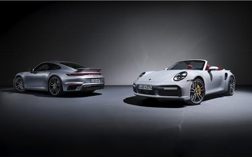 The new Porsche 911 Turbo S