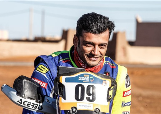 Sherco TVS Rally Factory Team squad for.