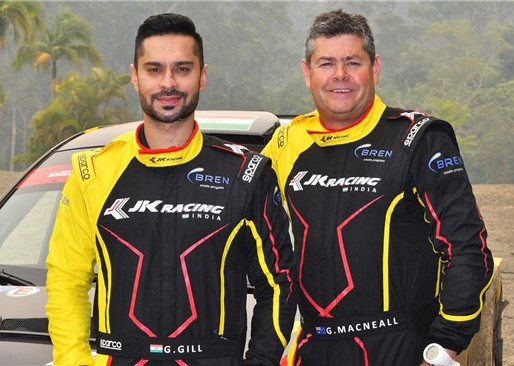 Gill set for Rally of Australia.