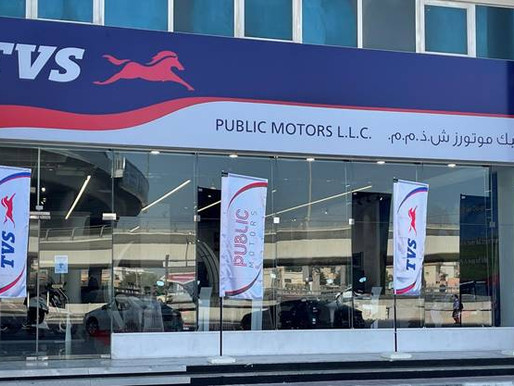 TVS Motor Company strengthens its presence in the UAE