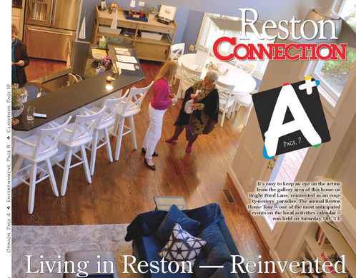 Reston Home Tour Page 1 connection artic