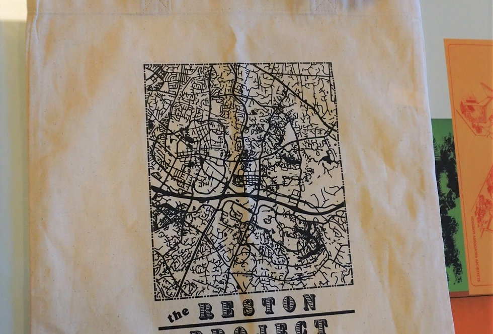 Reston Map Tote