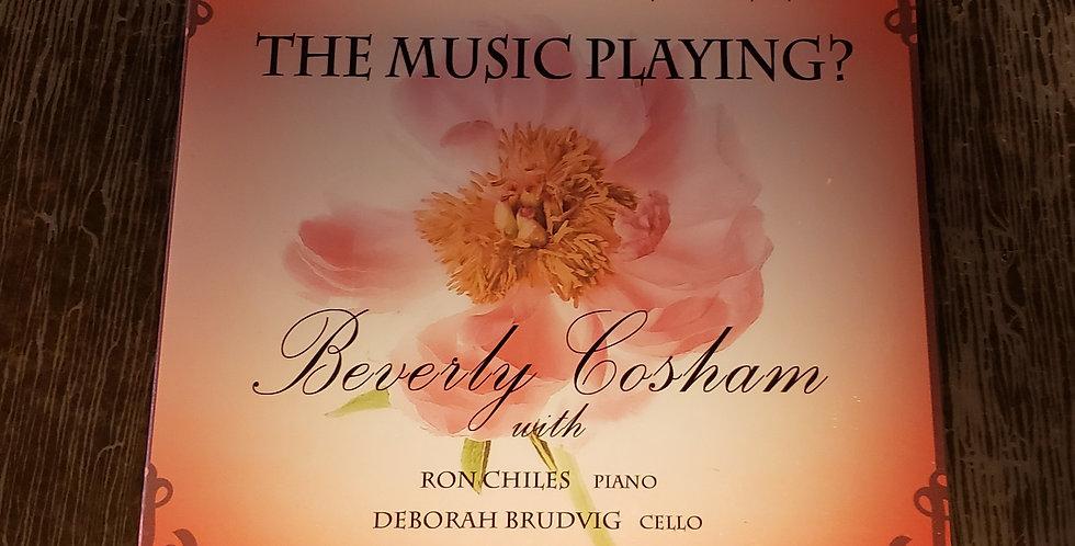 Beverly Cosham CD How Do We Keep the Music Playing?