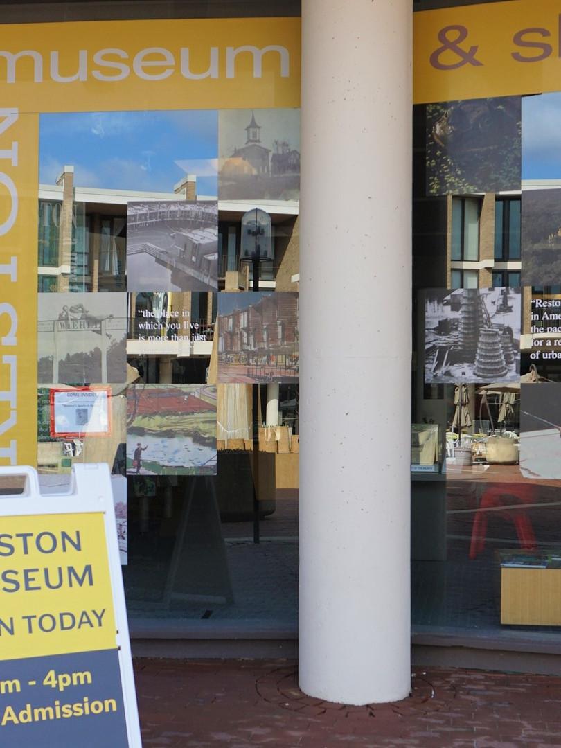 Reston Museum Entrance