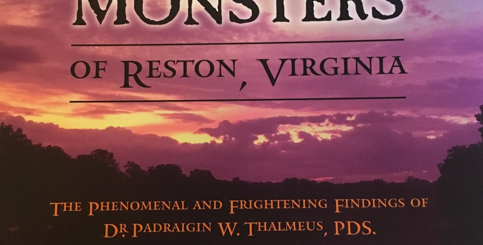 "Book: ""Myths & Monsters of Reston, Virginia"""