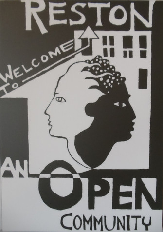 Reston Welcome to an open commuity poster