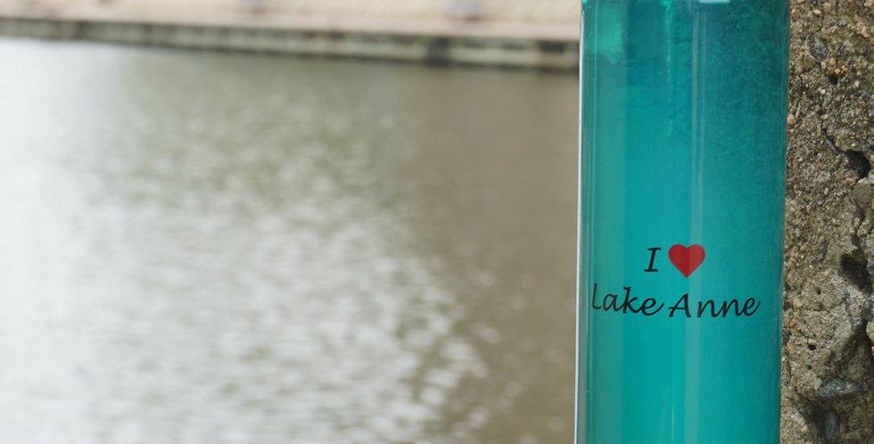 Water Bottle I *Heart* Lake Anne