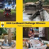 Our Cardboard Challenge Winners!
