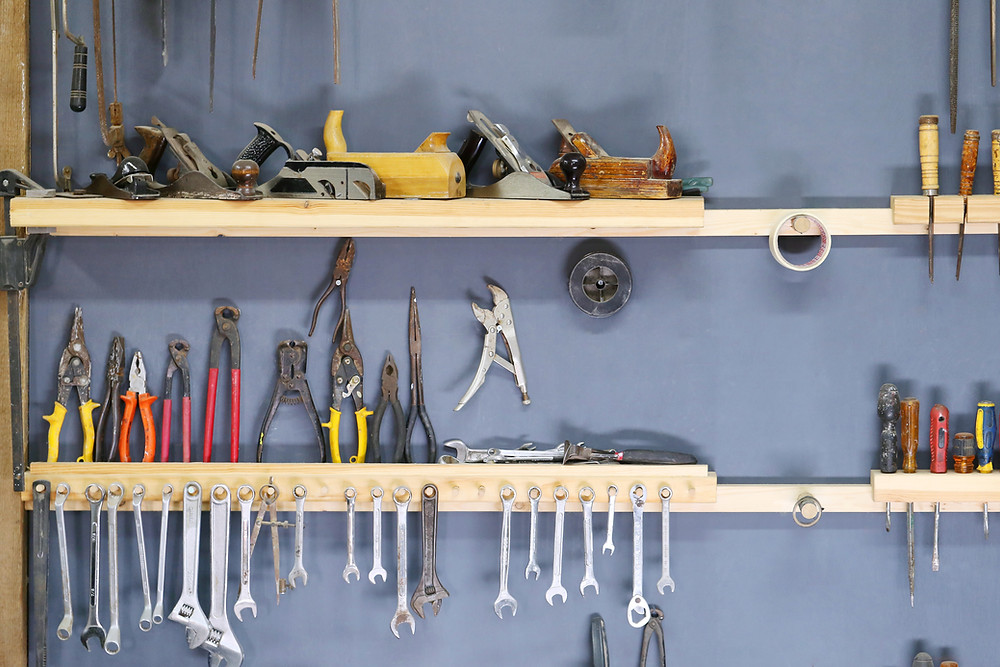 Storage of various tools